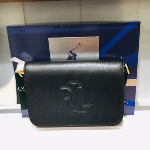 Lauren Ralph Lauren Embossed Logo Crossbody Bag